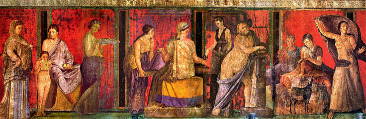 античная живопись